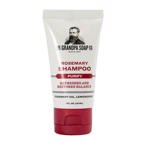 Grandpa Soap Co. Rosemary Shampoo - Travel PAKT