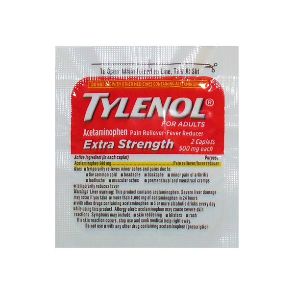 Tylenol - Travel PAKT