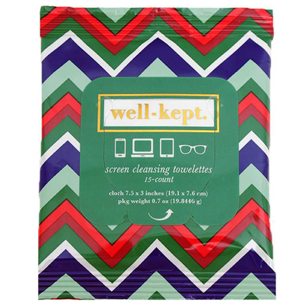 well-kept Sanitizing Screen Wipes - Travel PAKT