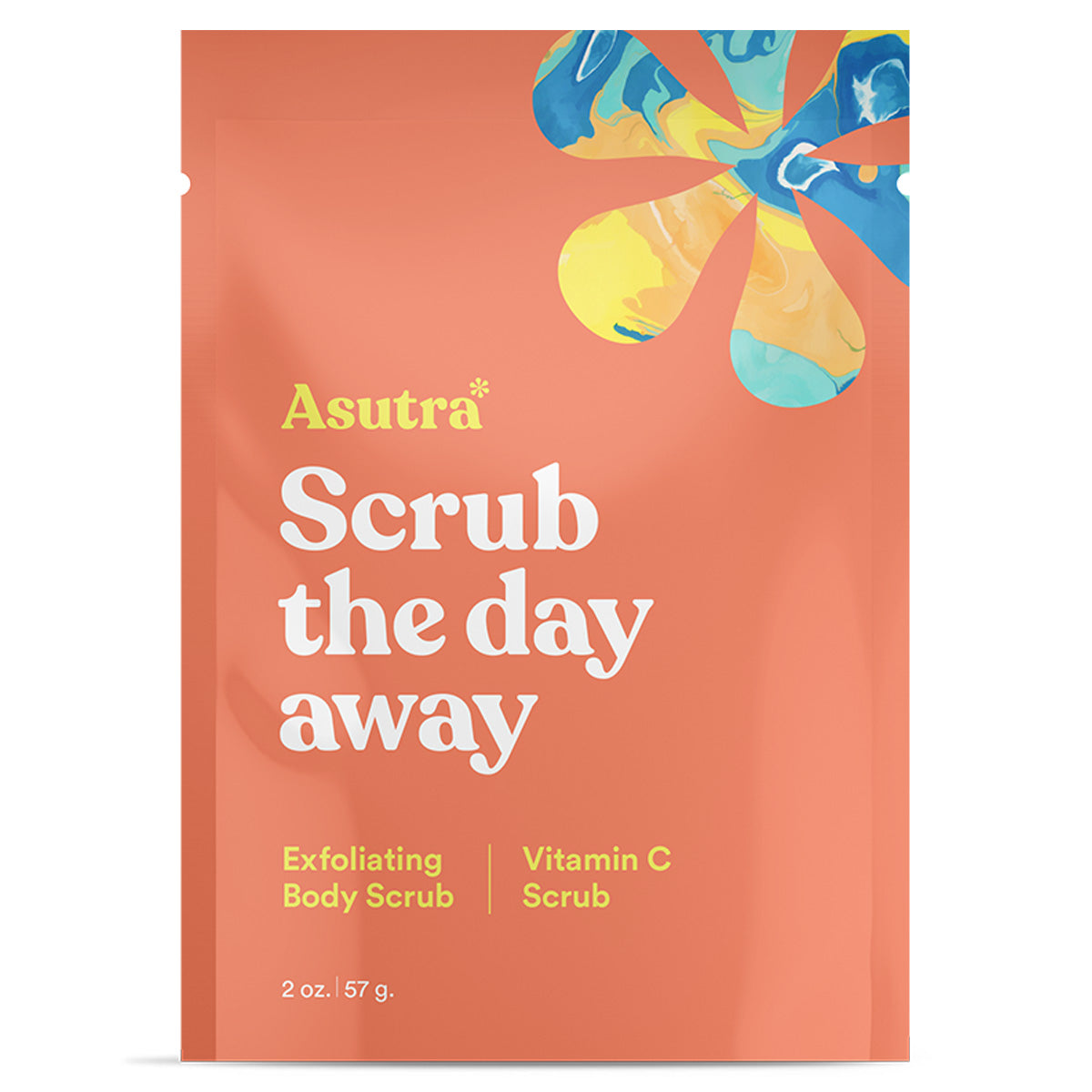 Asutra Vitamin C Body Scrub - Travel PAKT