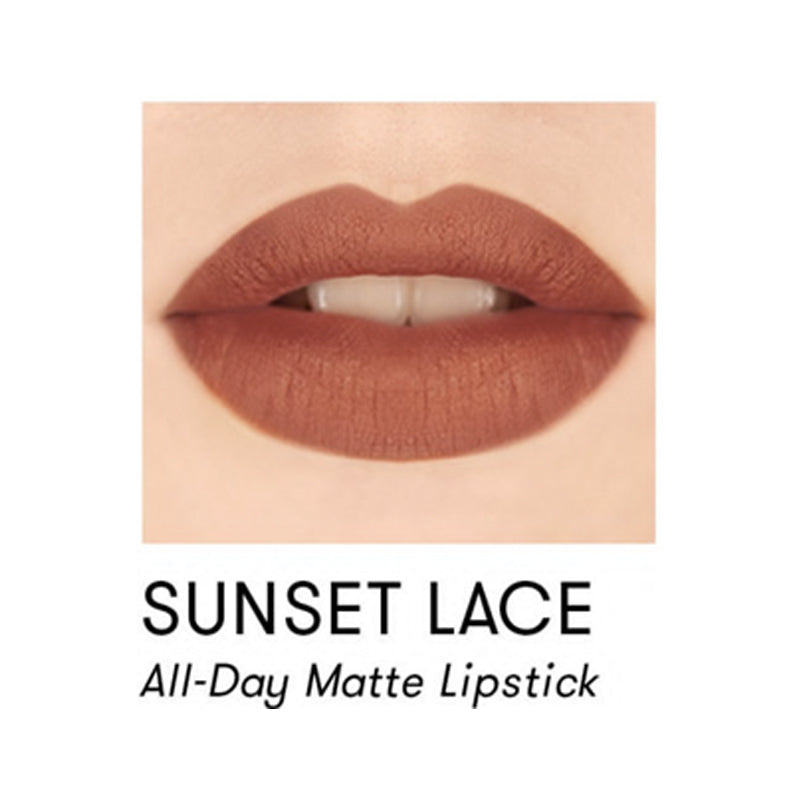 Blk Cosmetics x Solenn All-Day Intense Matte Lipstick - Sunset Lace