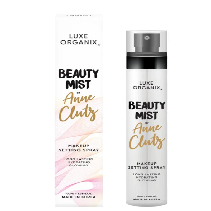 Luxe Organix Beauty Mist By Anne Clutz Makeup Setting Spray