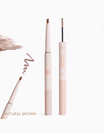 blk cosmetics Brow Stick Pencil + Mascara - Natural Brown