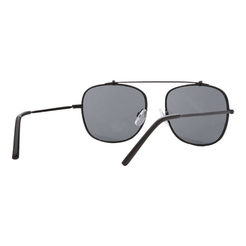 Sunnies Studioos Benny Square Sunglasses for Men and Women - Charcoal Full