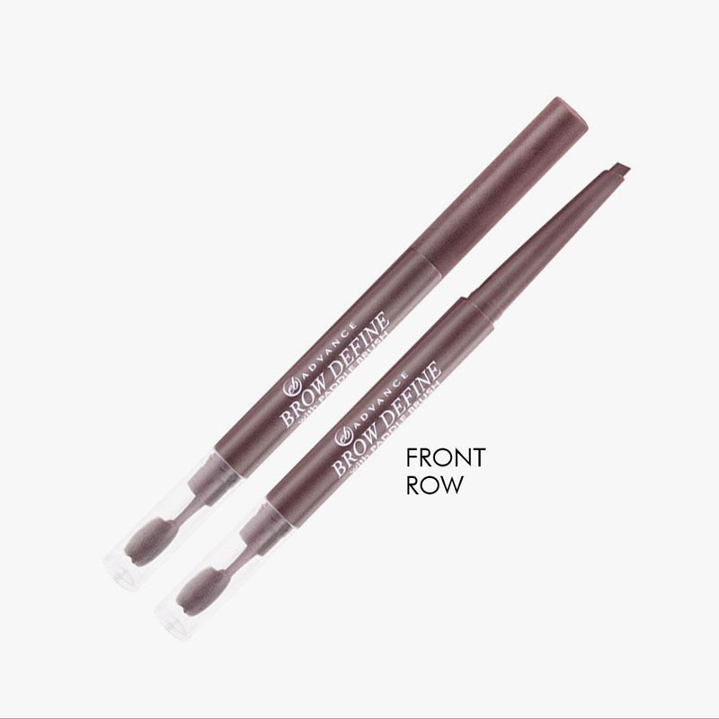 EB Advance Brow Define with Paddle Brush - Front Row