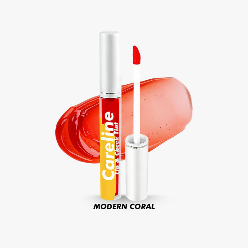 Careline Lip and Cheek Tint - Modern Coral