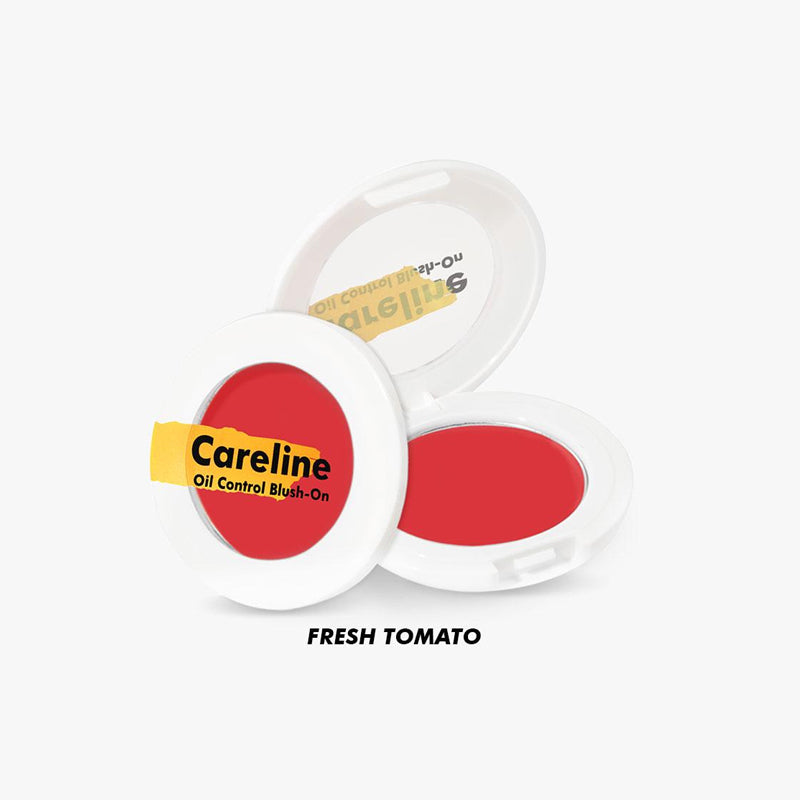 Careline Oil Control Blush-On - Fresh Tomato