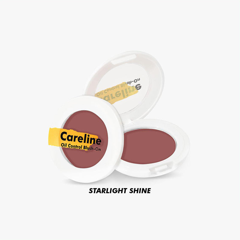 Careline Oil Control Blush-On - Starlight Shine