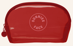 Sunnies Face Jelly Pouch - Cherry