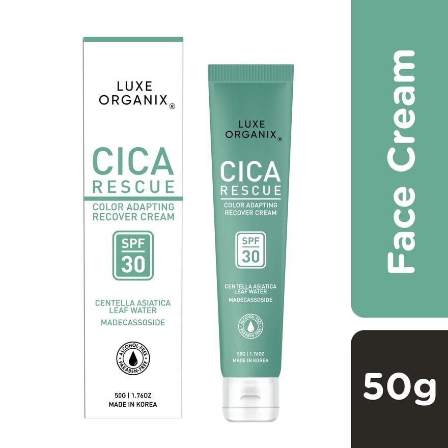 Cica Rescue Color Adapting Recover Cream