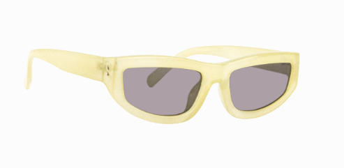 Sunnies Studios Cosima Sunglasses in Citrine Full
