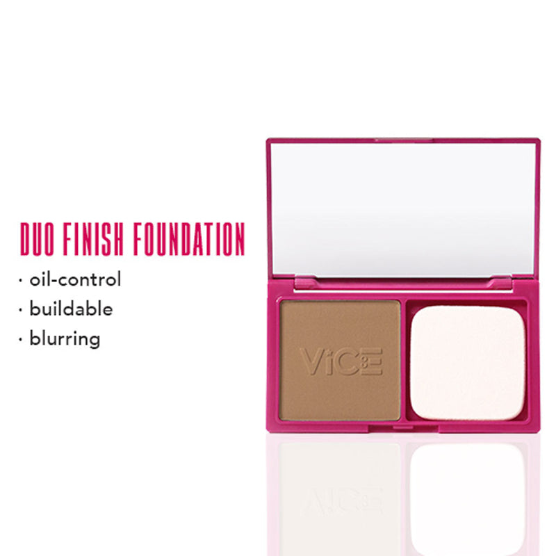 Vice Cosmetics Duo Finish Foundation - Kinesa