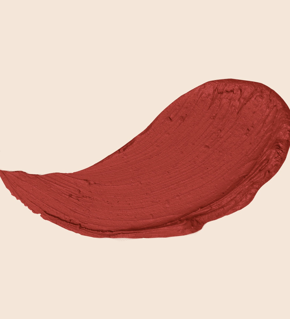 Sunnies Face Fluffmatte hot sauce | tomato red swatch