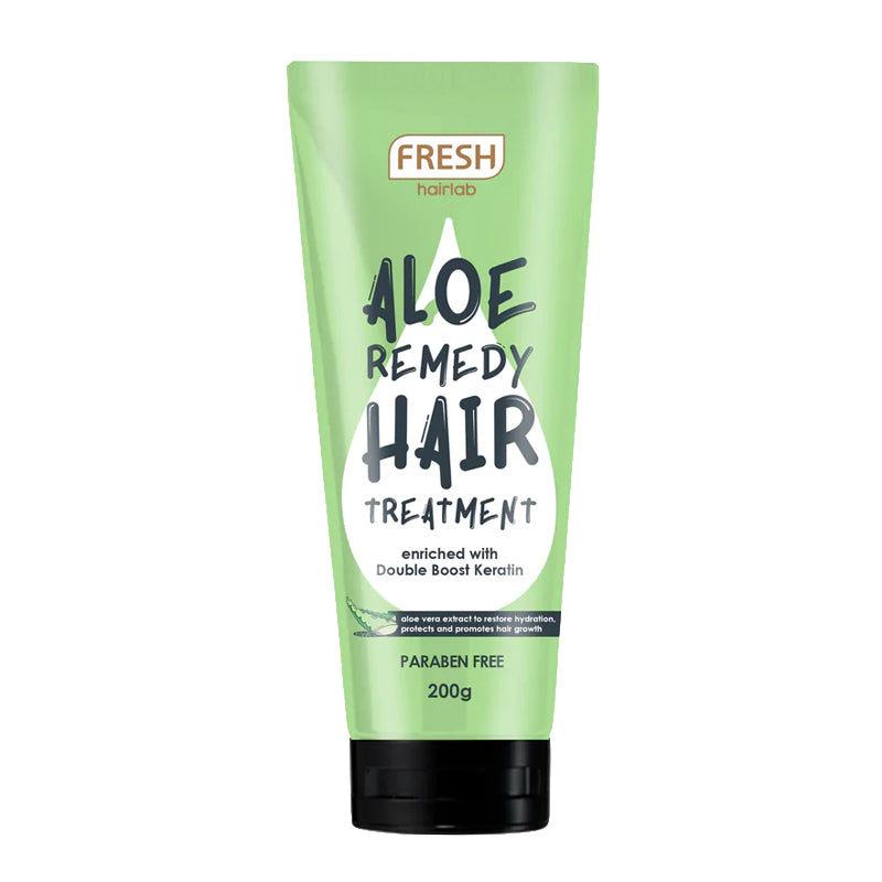 Fresh Aloe Remedy Hair Pack Treatment
