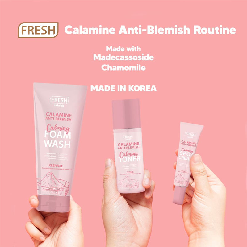 Calamine Anti Blemish Calming Foam Wash