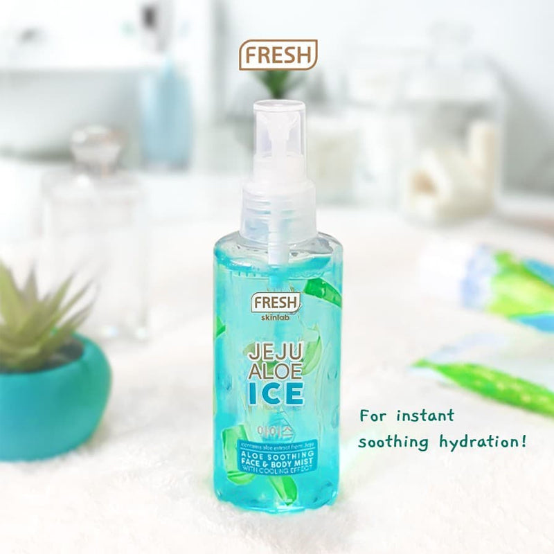 Fresh Skinlab Jeju Aloe Ice Face And Body Mist