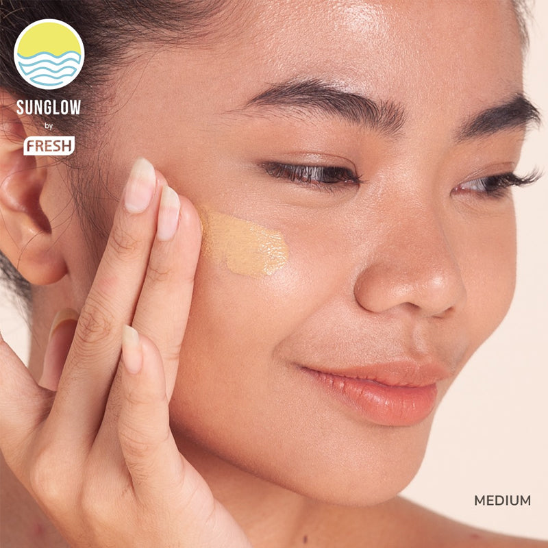 Sunglow By Fresh Creme Tinted Sunscreen - Medium