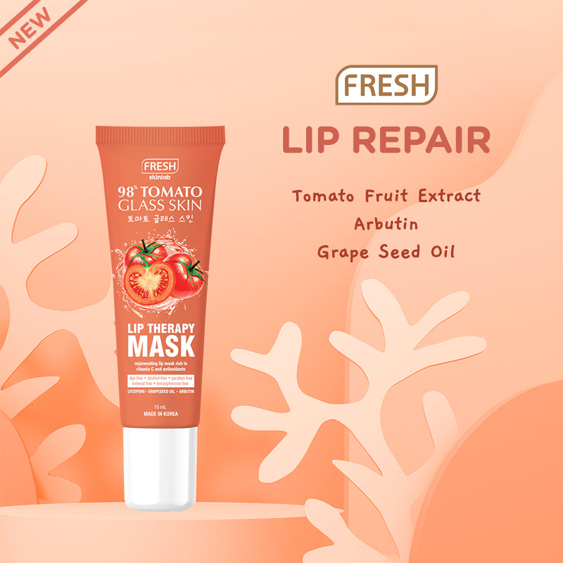 Fresh Skinlab Tomato Glass Skin Sugar Lip Therapy Scrub