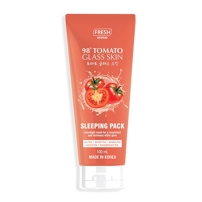 Tomato Glass Skin Sleeping Pack
