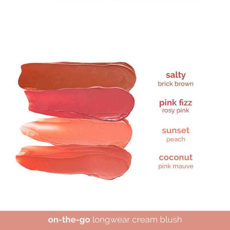 Happy Skin Instant On-The-Go Longwear Cream Blush - Sunset