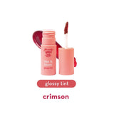 Kiss & Bloom Glossy Tint - Crimson