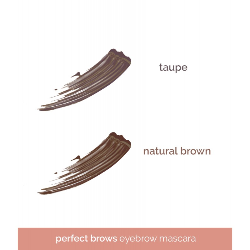 Generation Happy Skin Perfect Brows Eyebrow Mascara - Taupe