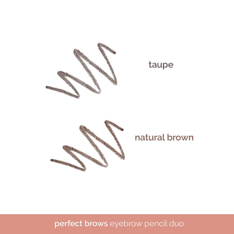 Generation Happy Skin Perfect Brows Eyebrow Pencil Duo - Taupe