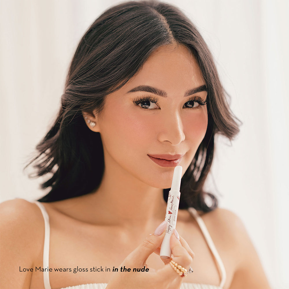 Happy Skin Love Marie Gloss Stick - In The Nude Heart Evangelista