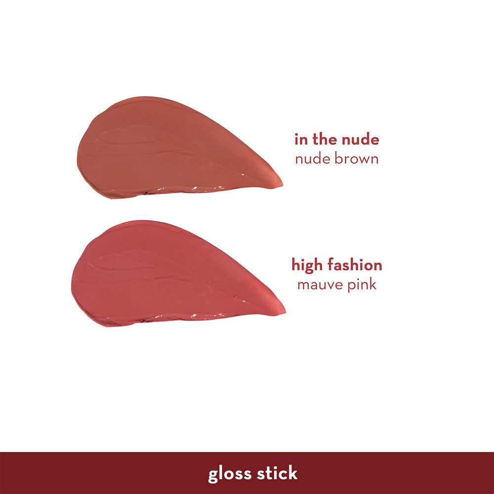 Happy Skin Love Marie Gloss Stick - In The Nude Swatches