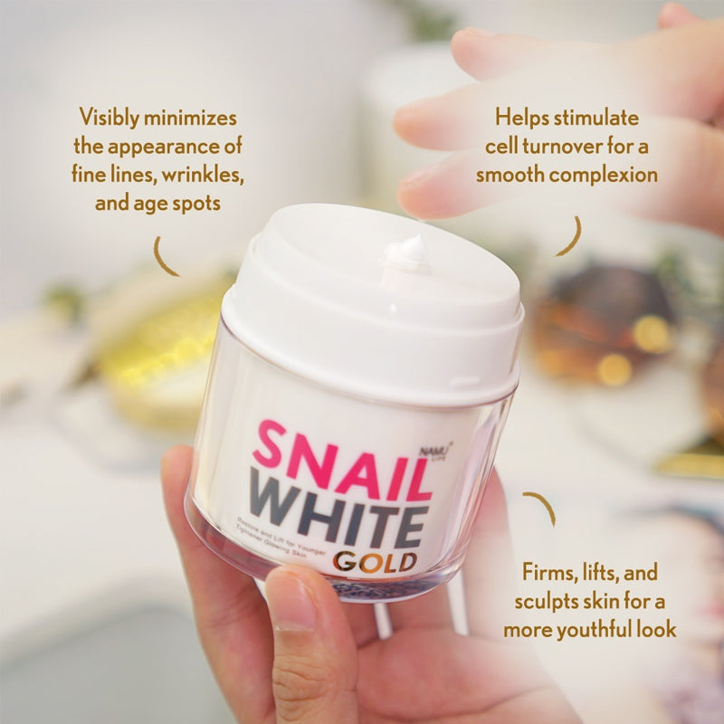 SNAILWHITE Gold Cream Benefits