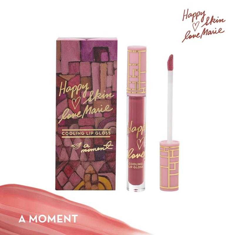 Happy Skin Love Marie Cooling Lip Gloss in A Moment