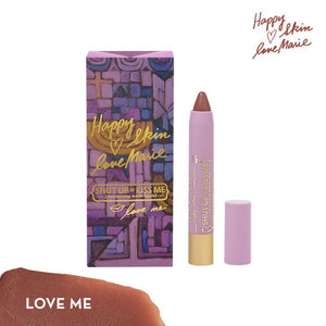 Happy Skin Love Marie Shut Up & Kiss Me Moisturizing Matte Lippie in Love Me