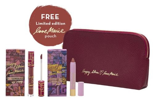 Happy Skin Love Marie Lippie & Lip Gloss Bundle