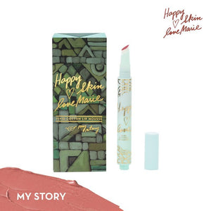 Happy Skin Love Marie Vivid Cotton Lip Mousse in My Story