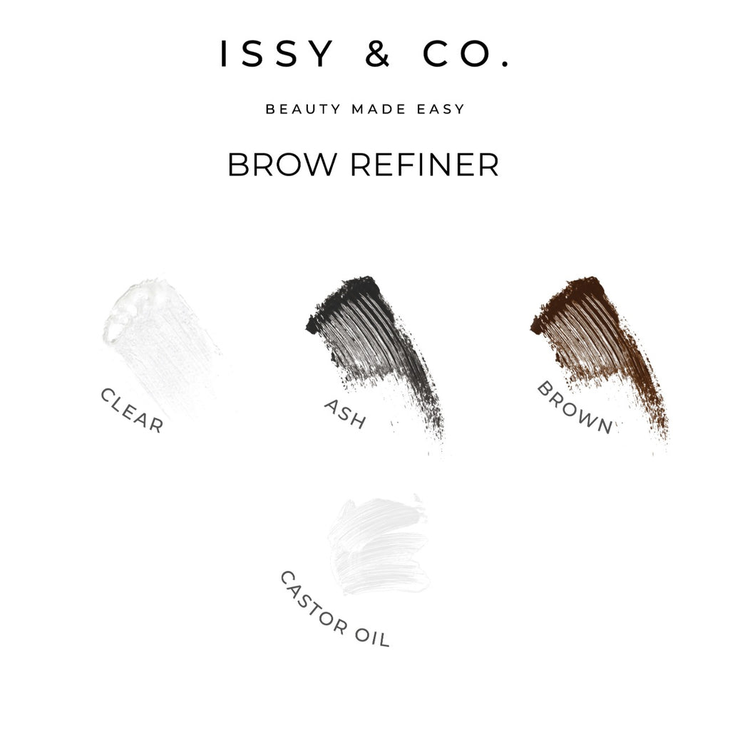 Issy and Co Brow Refiner Swatches