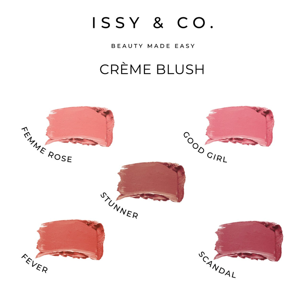 Issy and Co Creme Blush Swatches