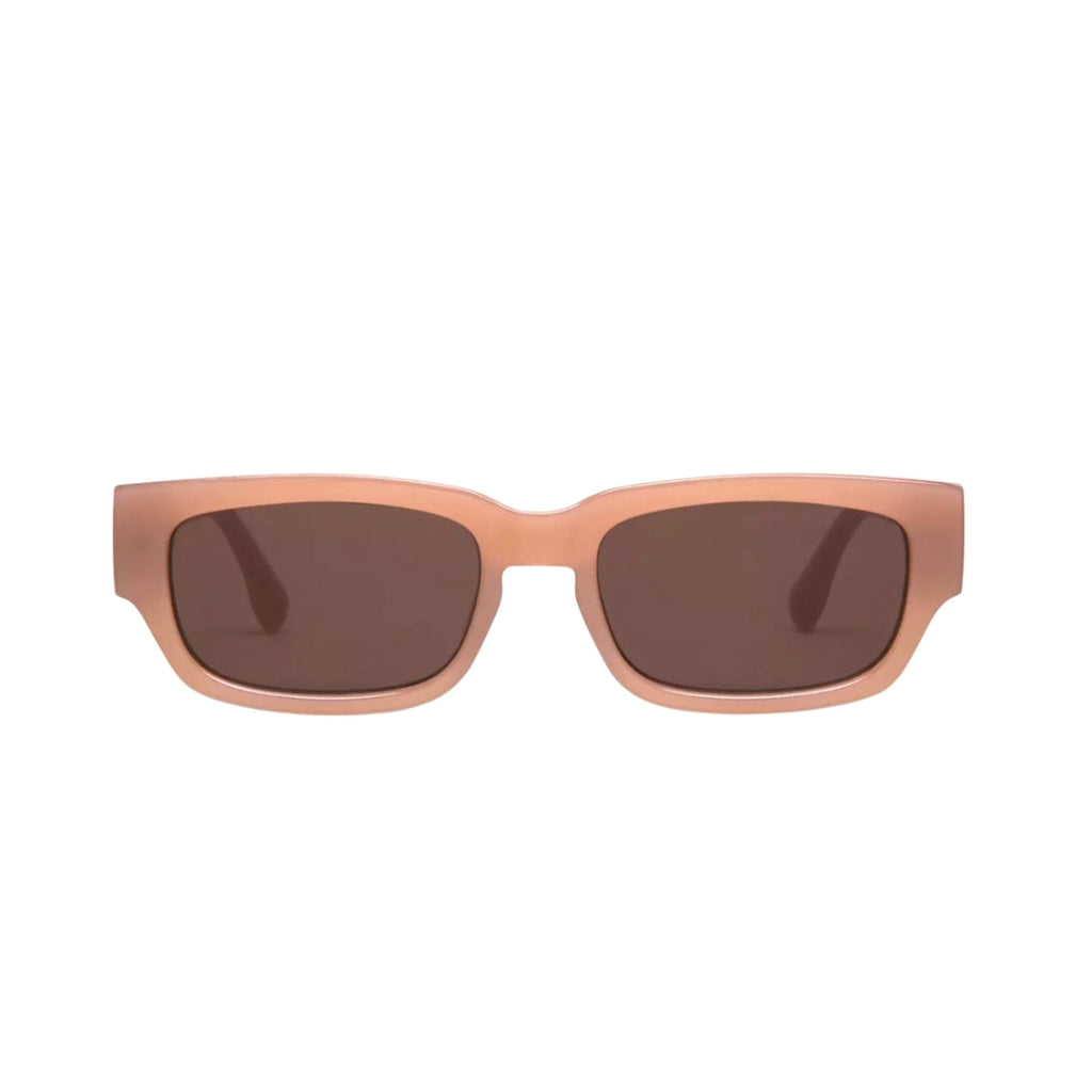 Jarvis Rectangular Sunglasses for Men and Women - Cashmere