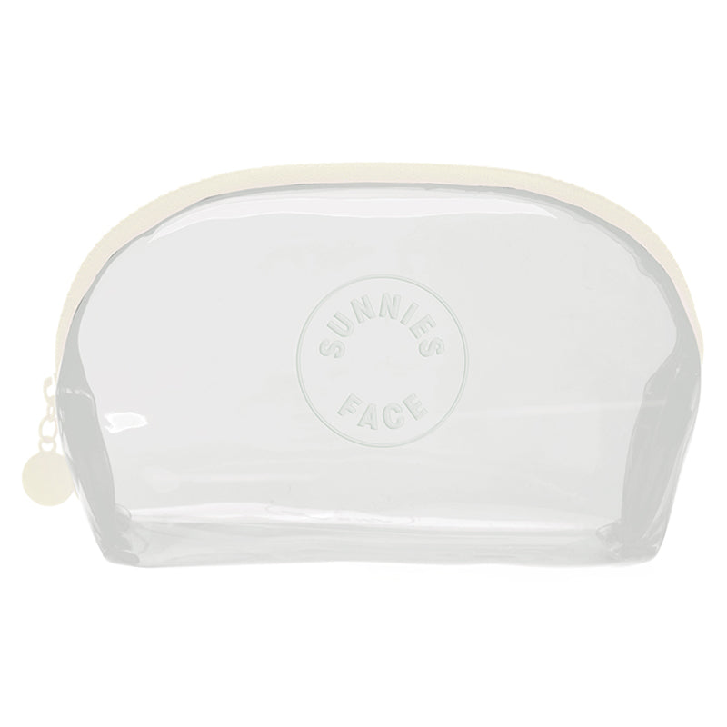 Sunnies Face Jelly Pouch - Coconut