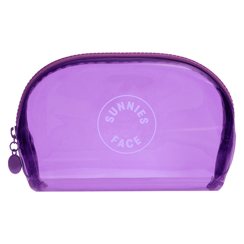 Sunnies Face Jelly Pouch - Grape