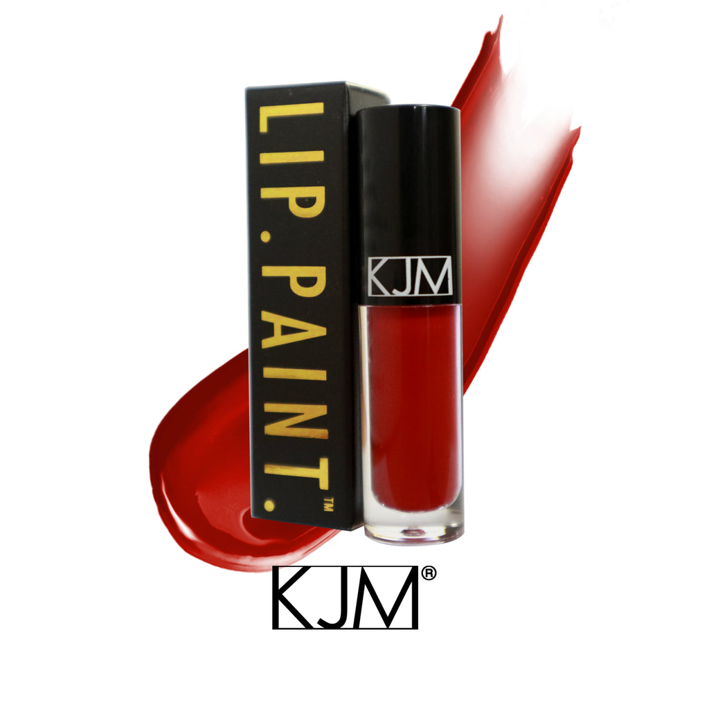 KJM Cosmetics LIP. PAINT. - Red Queen