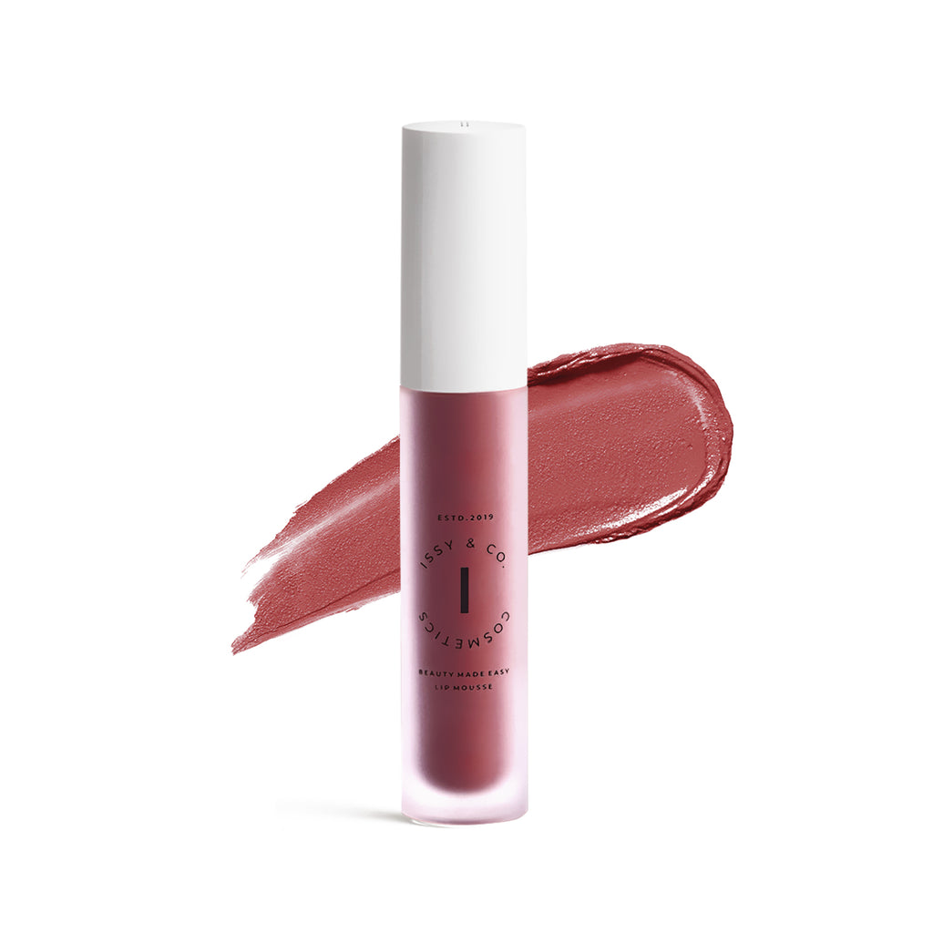 Issy & Co Lip Mousse - Fiancee with Swatch