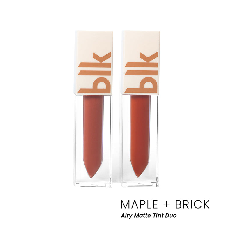 blk cosmetics Airy Matte Tint - Brick + Maple