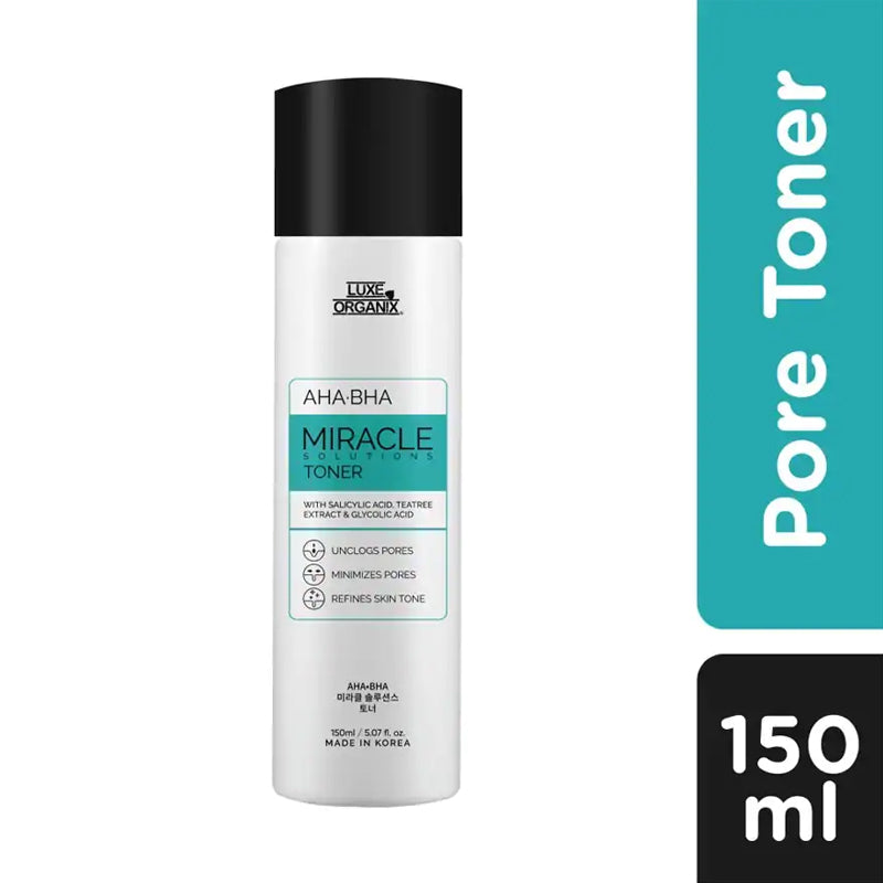 Luxe Organix Ph Miracle Toner AHA/BHA Pore Clarifying Treatment