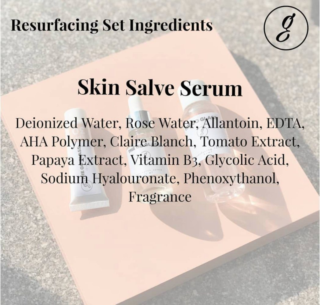 The Go Glass Skin Salve Serum New Formula Ingredients