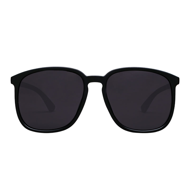 Sunnies Studios Silvio Square Sunglasses for Men and Women  - Charcoal