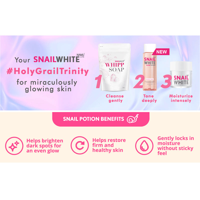 Holy Grail Trinity Set In Pink Pouch