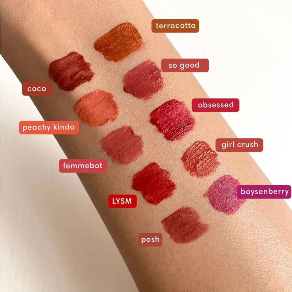 Sunnies Face Lipdip Arm Swatches