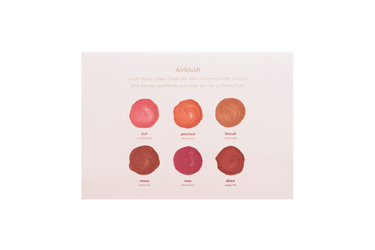 Sunnies Face The Airblush Collection