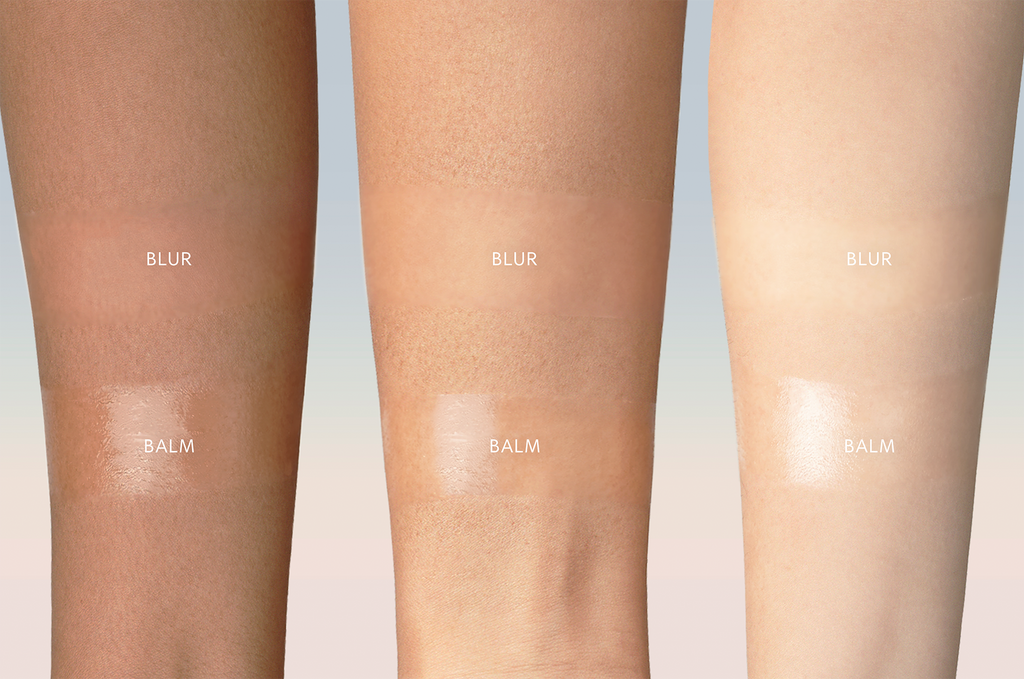 Sunnies Face The Perfector Blur and Balm Arm Swatch