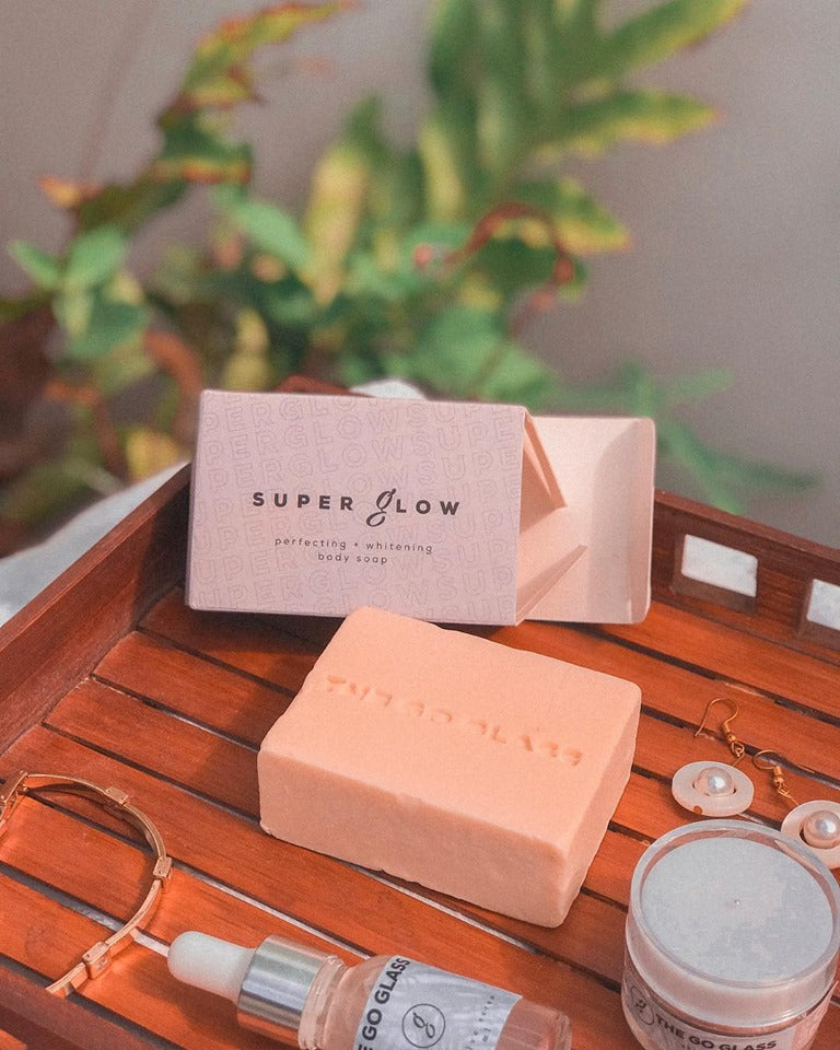 The Go Glass Super Glow Body Soap